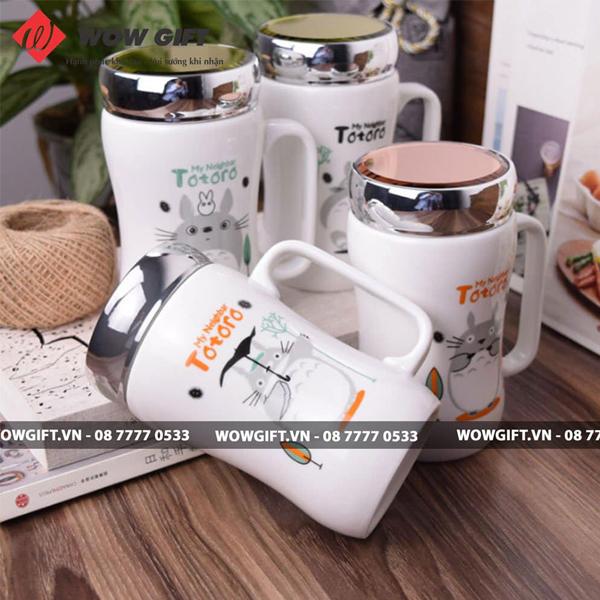 quà tặng cho khách hàng ngày khai trương cốc sứ in logo