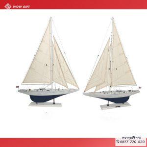 tranh mô hình thuyền buồm
