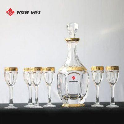 quà tết doanh nghiệp bộ bình rượu