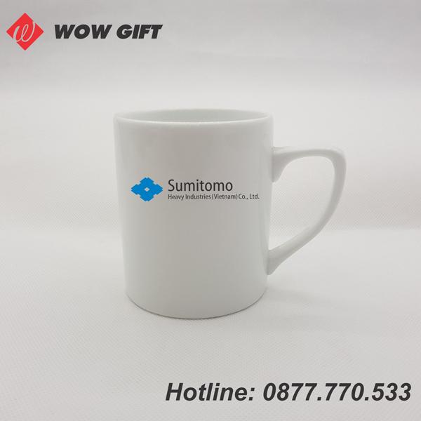 cốc sứ in logo